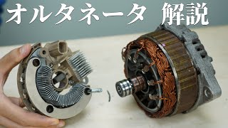 [Eng sub] How a alternator (car generator) works. explained