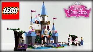 ♥ Lego Disney Princess Cinderella Romantic Castle 41055 Unboxing (lego Toys For Kids)