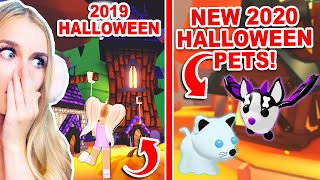 TIME TRAVELLING To HALLOWEEN 2019 And What NEW PETS Are Coming THIS HALLOWEEN In Adopt Me!? (Roblox)