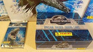 2018 Jurassic World 2 Fallen Kingdom Panini Cards Starter Set & Booster Box of 24 Packs TCG Cards