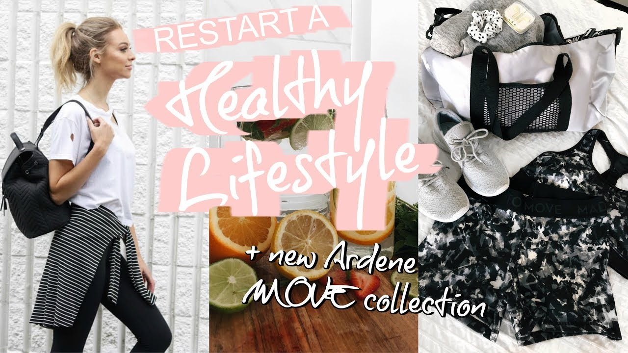 Restart A Healthy Lifestyle + New Ardene MOVE collection | 2018