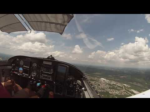 RV 7A flight over Monongahela River Valley