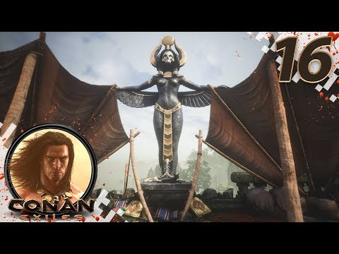CONAN EXILES (NEW SEASON) - EP16 - Learning All Religions! (Gameplay Video)