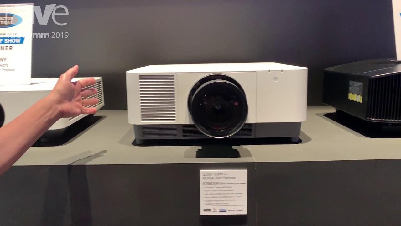 InfoComm 2019: Sony Features Its Expanding Laser Projector Lineup,  Including PHZ10, FHZ65/66/75