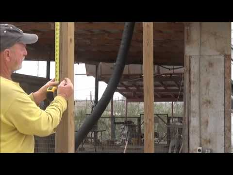 How to use a laser level!