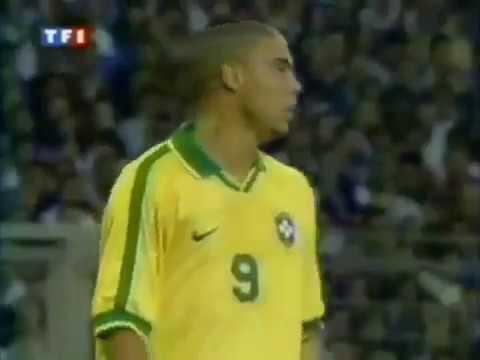 Roberto Carlos Best Goal   Free Kick Goal vs France Tournoi de France 1997