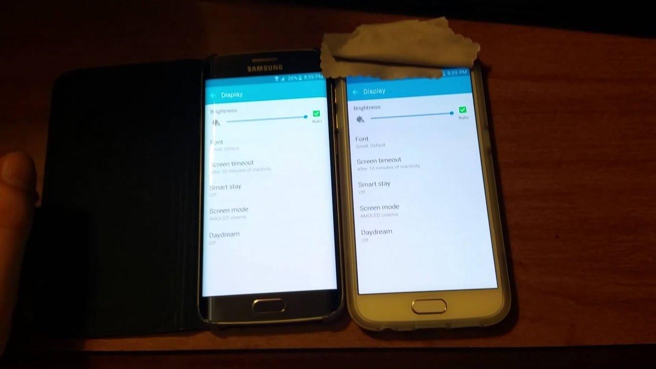 Screen Brightness So Dim Even On Full Bright… | Samsung