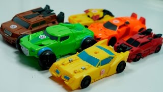 TRansformers Robots In Disguise CombinerForce Bumblebee Springload Quillfire Autobot Drift RID Toys
