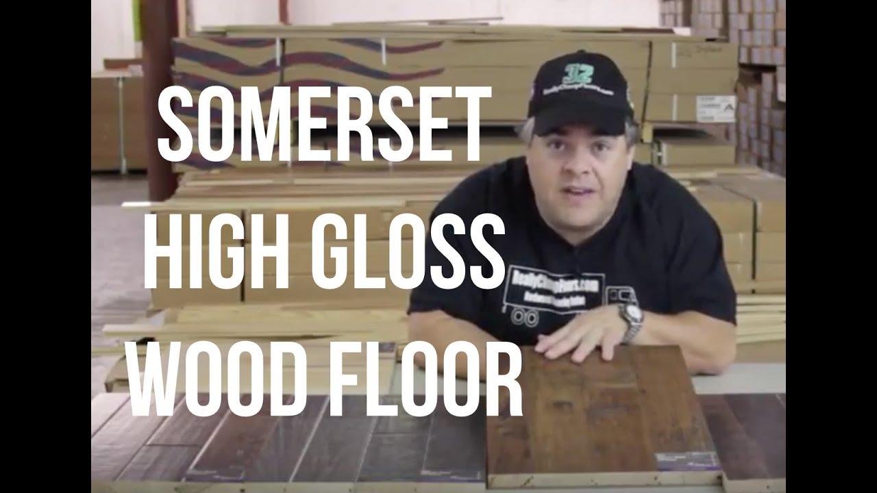 Somerset High Gloss Hardwood Flooring   ReallyCheapFloors.com Sample Series