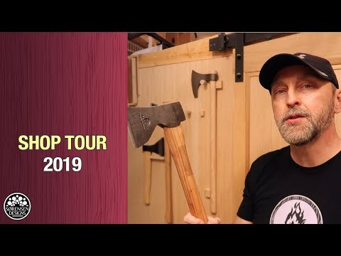 Shop Tour 2019 // Small Woodworking Shop