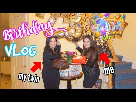 Me and My TWIN's Birthday! YES I HAVE A TWIN