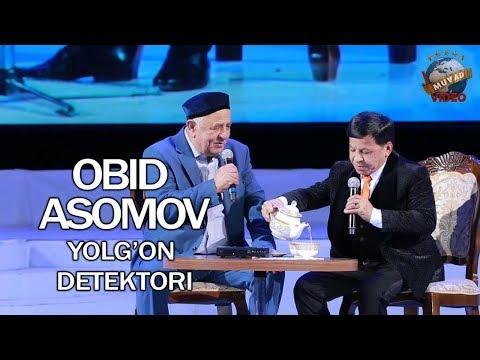 OBID ASOMOV 2018 - YOLG`ON DETEKTORI