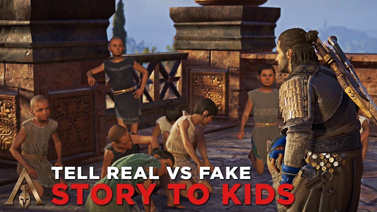 Alexios Tells the REAL vs FAKE Story of Perseus - Assassin ...