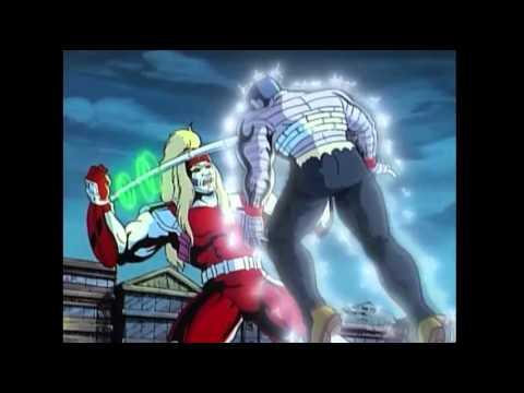 Colossus vs Omega Red