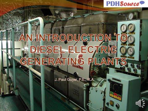 AV PP BULLET Diesel Electric Generating Plants