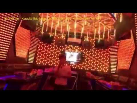Phòng karaoke đẹp - Mẫu phòng hát karaoke nhẹ nhàng cho gia đình || Nội thất Bảo Long