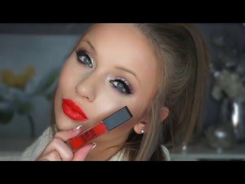 new-maybelline-vivid-matte-liquid-lip-colors-|-all-10-lip-swatches!
