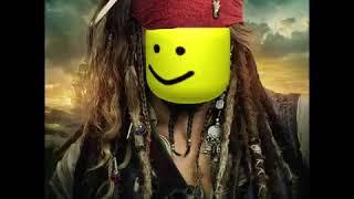 die Piraten des karibischen Themenlieds, aber mit Roblox-Sounds