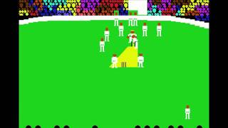 Arnie Armchairs Howzat Cricket Game - Commodore 64 (PAL) [MESS] [shortplay]