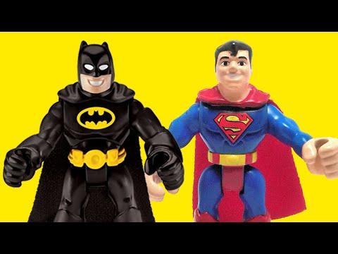 BATMAN vs SUPERMAN dawn of justice trailer v imaginext toys new 2016