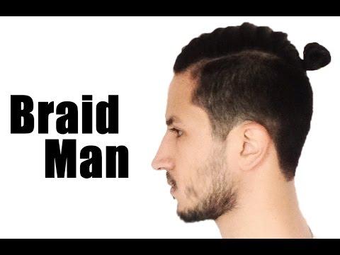 Man Braid Trenza Para Hombre Youtube