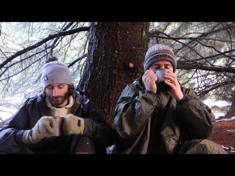 Hammock Camping In The Snow | Beer Reviews