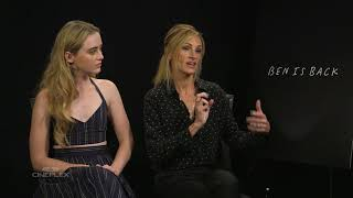 Julia Roberts & Kathryn Newton On The Importance Of Family In Ben Is Back   TIFF 2018