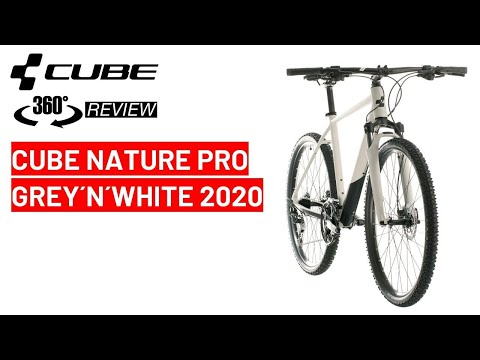 cube-nature-pro-grey´n´white-2020:-360-bike-review