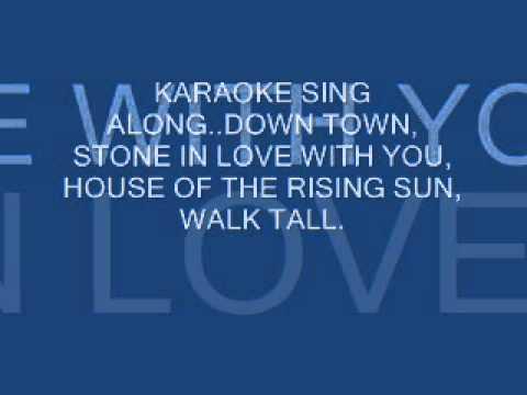 KARAOKE SING ALONG. 60'S & 70'S.