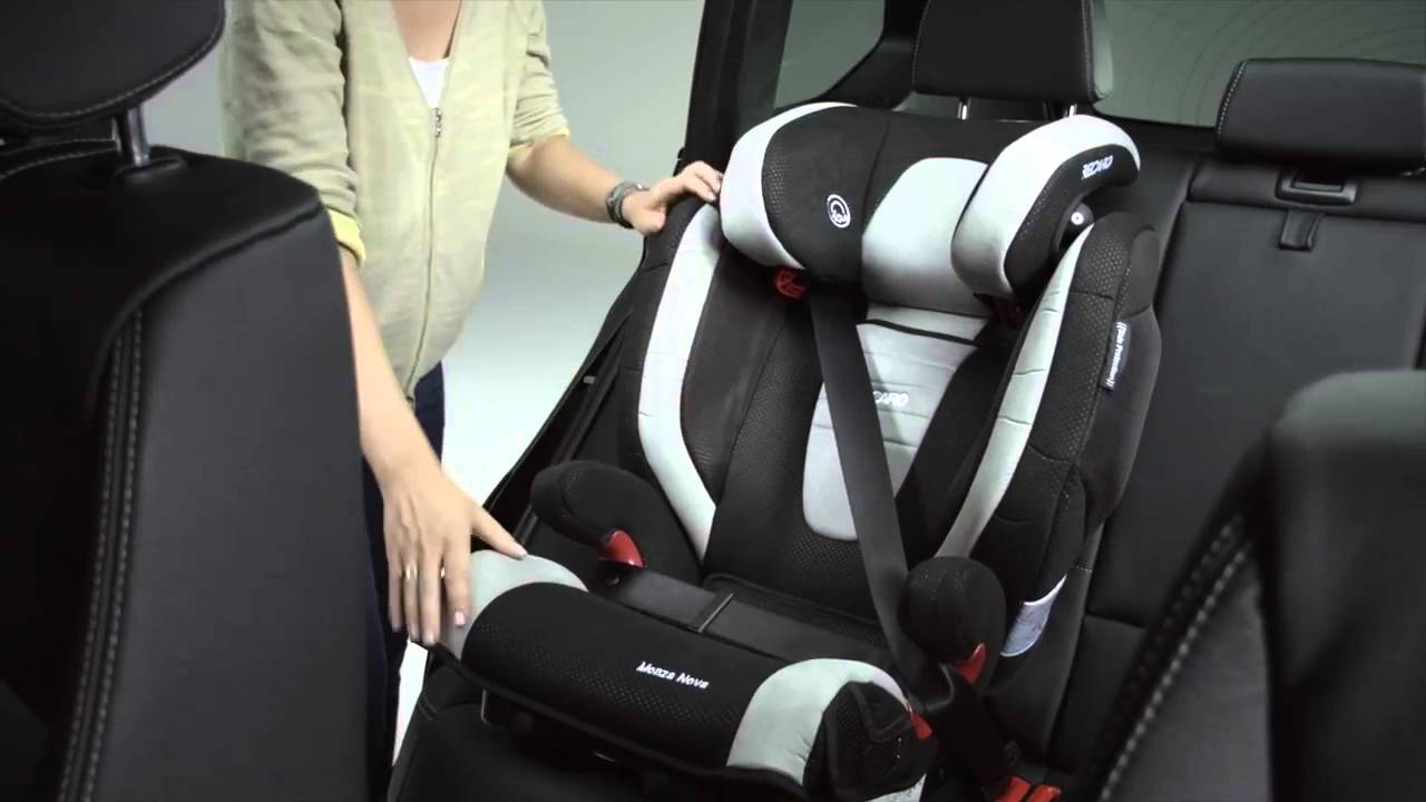 recaro monza nova 2 seatfix comment installer le si ge. Black Bedroom Furniture Sets. Home Design Ideas