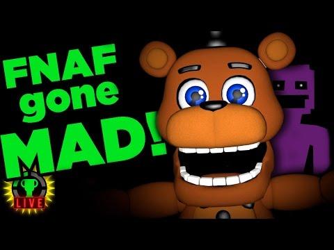 Return to FNAF World - Scott's GONE MAD!