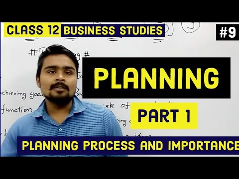 Class 12 business studies( planning and it's process) mind your own business video 9