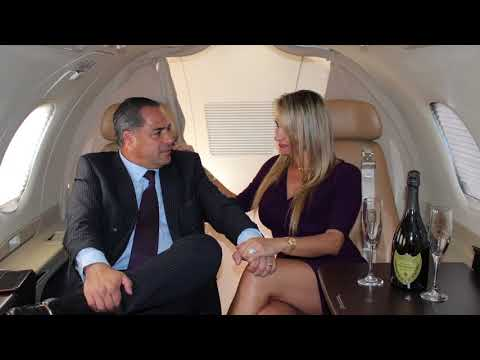 VIP Experience Private Jet (Phenom100) N100NV (NV JETS) Luxury Flight Rolls Royce