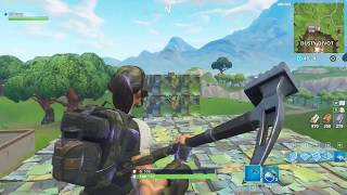 How to practice track aiming in playground mode (Fortnite)