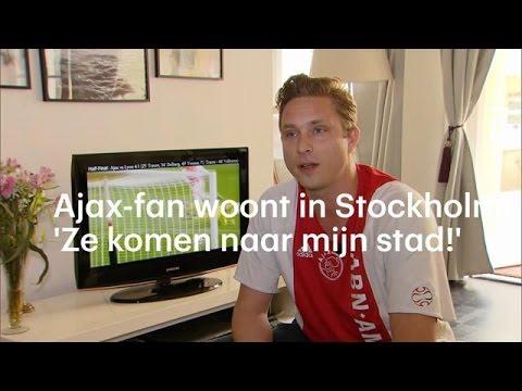 Ajax-superfan woont in Stockholm - RTL NIEUWS
