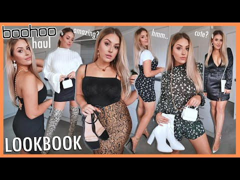 Clothing Haul & Lookbook 👙 Ft Affordable BOOHOO Outfits!