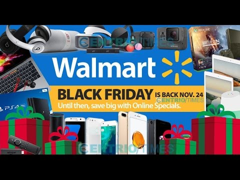 Walmart Black Friday 2016 Ad Scan, Deals, Sales, Wristband Doorbusters, Store Loctions Map