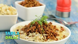 Matki Poha Chivda (Healthy Breakfast) by Tarla Dalal