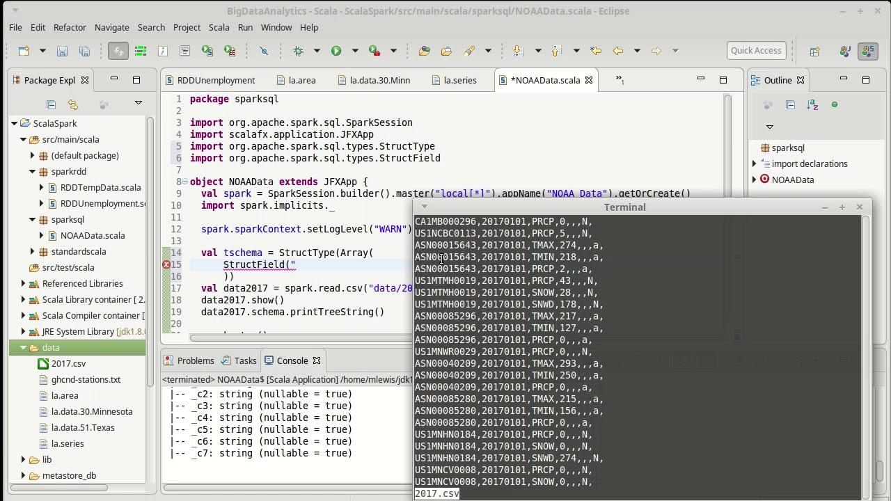 Spark SQL Part 3 (using Scala)