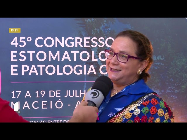Dentistas de todo Brasil se reúnem em Maceió para congresso no Centro de Convenções
