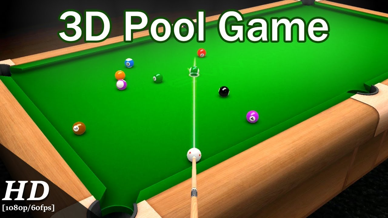 3d Pool Game Free Android Gameplay Youtube