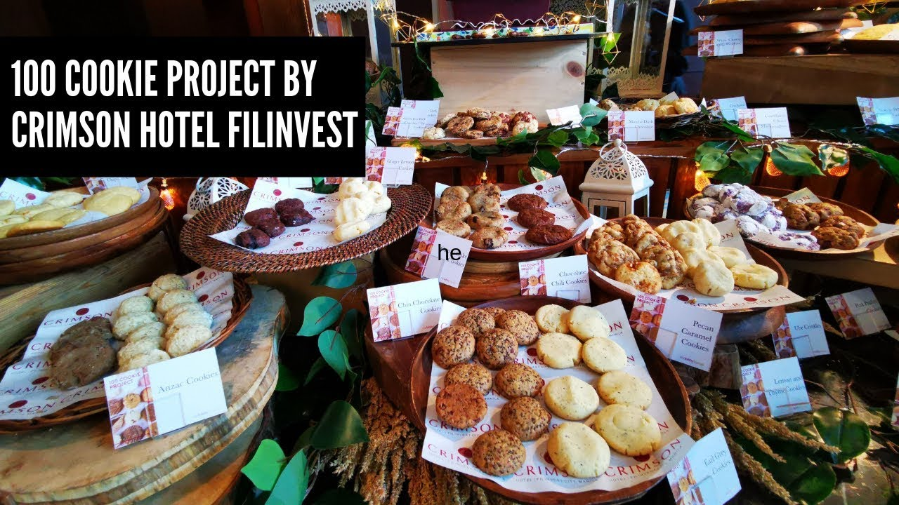 100 COOKIE PROJECT BY CRIMSON HOTEL FILINVEST MANILA