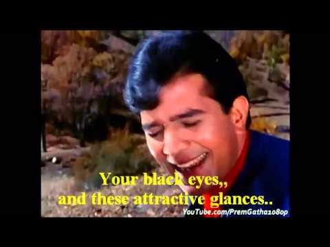 'Kora Kagaz Tha Yeh Man Mera' (Movie: ARADHANA -1969) English Subtitles