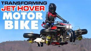 Lazareth LMV 496 Transforming Jet Hover Bike