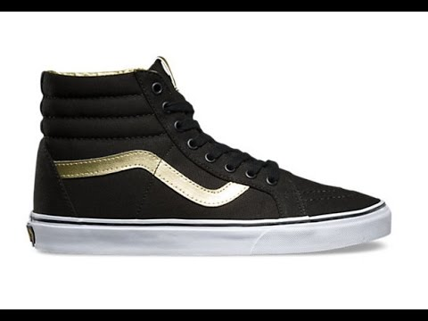 c7ce489946bf Shoe Review  Vans  50th Anniversary  SK8-Hi Reissue (Black Gold ...
