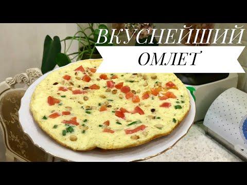Как приготовить омлет без молока на сковороде