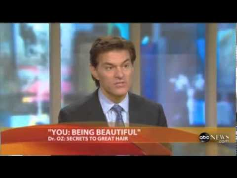 Dr Oz: Hair loss, Hair growth, Biotin
