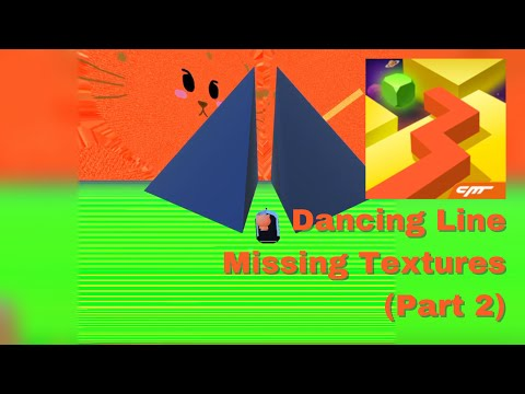Dancing Line Missing Textures (Part 2) - Dream of Sky, The Maze, The Desert, The Storm, The Piano...