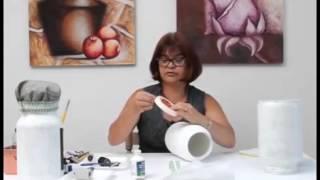 Acrilex - Programa Artesanal - Pintura em Vidro com Tinta Lousa