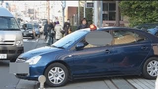 覆面パト緊急出動!Rapid deployment of the unmasked patrol car.